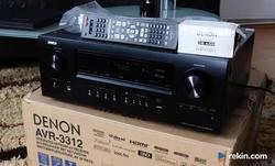 Amplituner 7.2 Denon AVR-3312 USB Net 3D Myślenice zamiana