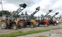 Tur 2-sekcyjny Wol-Met -Łyżka+Widły do URSUS C-330 -Raty 5%