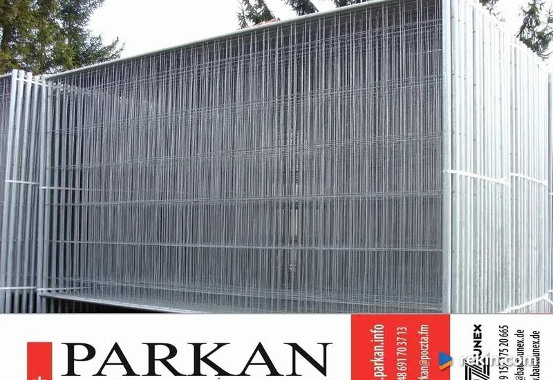 Ogrodzenia ogrodzenie ażurowe tymczasowe przestawne Parkan