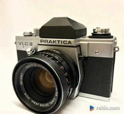 PRAKTICA VLC2 Aparat PANCOLAR 1.8 Zeiss Obiektyw