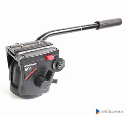 MANFROTTO 3021N statyw MANFROTTO 501 głowica