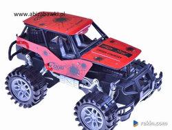 TERENOWY samochód 32 cm auto METALOWE NAPĘD czerw