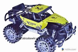 TERENOWE auto 31cm METAL NAPĘD monster truck żółte