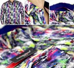 DANIEL BESSI Milano Koszule męskie niepowtarzalne ekskluzywn