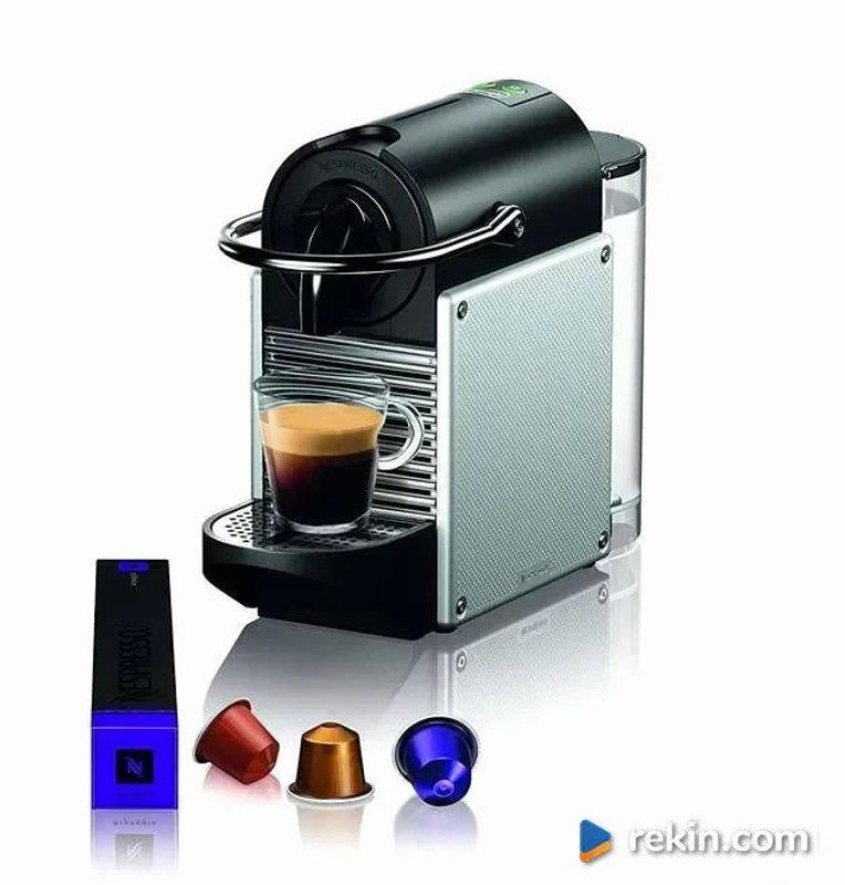 DeLonghi Nespresso Pixie Ekspres kapsułkowy EN125S