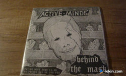 """Active Minds - Behind The Mask 7""""EP Punk"""