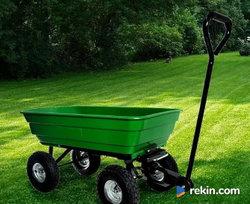 Taczka wózek ogrodowy transportowy wywrotka 250kg NOWY