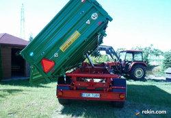 Przyczepa wywrotka 8 ton HL 8011 przyczepy wywrotka jak nowa