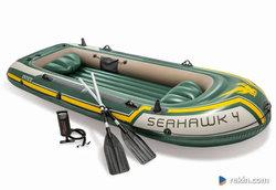 Ponton Seahawk 4 Set 351 x 145 x 48 cm INTEX