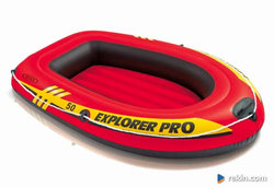 Ponton Explorer PRO 50 137 x 85 x 23 cm INTEX