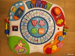 Simply Play stoliczek edukacyjny stolik interaktywny