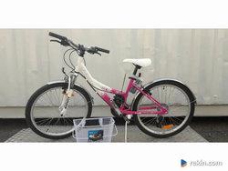 Nowy Rower dla dziewczyn Limber gb 1.4 24'' Różowo Biały Wyp