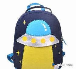 Plecaczek dla przedszkolaka UFO