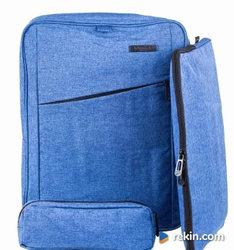 Plecak szkolny młodzieżowy, zestaw modny