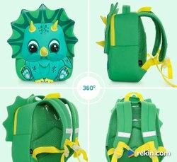 Plecak przedszkolaka - triceratops