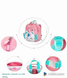 Wesoły jednorożec - plecak dla przedzkolaka