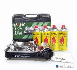 Kuchenka gazowa turystyczna RS7000DFS Rsonic 4gaz