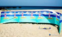 Parawan plażowy 5 M  różne wzory