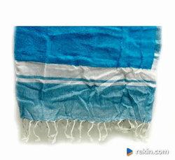 Ręcznik 100% bawełna dwustronny plażowy kąpielowy 90-190 kol