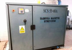 SCS fabryka maszyn strzyżów filtr powietrza wan serwis