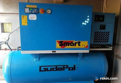 kompresor sprężarka GUDEPOL części filtr powietrza separator