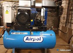 kompresor śrubowy AIRPOL filtr serwis separator SPRĘŻARKA