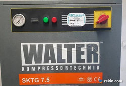 kompresor śrubowy Walter śrubowa sktg przetwornik ciśnienia