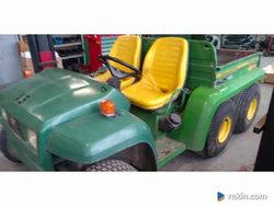 JOHN DEERE GATOR 6X4 ciężarówka terenówka wywrotka traktorek