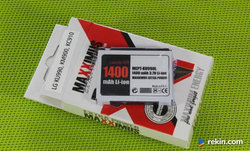 Bateria MAXXIMUS LG KU990 Li-ion 1400mAh LGIP-580