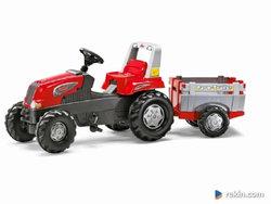 Traktor na pedały Przyczepa Junior 3-8 lat do 50kg