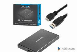 Szybki dysk przenośny 256 GB SSD USB 3.0 - 6Gb/s