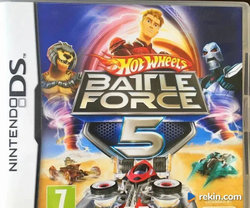 Gra Nintendo DS - Hot Wheels Battle Force 5