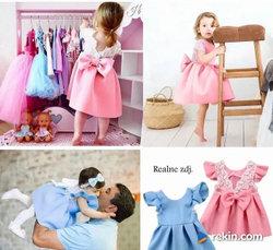CUDNA Sukienka dla Dziewczynki r. 62,68,74,80,86,92 cm