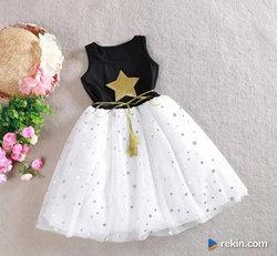 Śliczna Tiulowa Sukienka 98 104 110 116 122 128 134 140