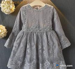 ŚLICZNA Koronkowa Sukienka r. 86 92 98 104 110 116 122 cm