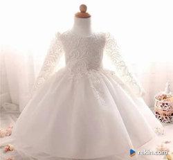 Prześliczna Sukienka na Chrzest Wesele r.62,68,74,80,86,92