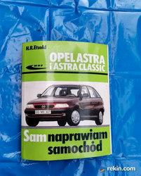 Sam naprawiam samochód Opel astra