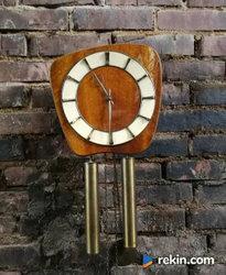 *Ładny, stylowy zegar wagowy, art deco* transport