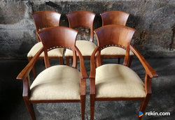 *Komplet eleganckich krzeseł* transport