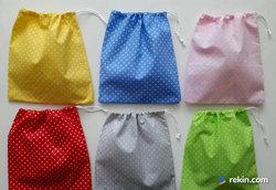 worek woreczek bawełniany na drobiazgi prezenty zabawki