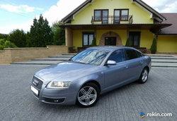 Audi A6 2,4 Benzyna Navi Alu Tempomat Serwis Zarejestrowany