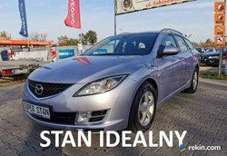Mazda 6 IDEALNA zero korozji 2.0d 140PS bogata wersja z Niemiec Serwis opłaty II (2007-2013)
