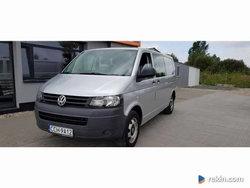 Volkswagen Transporter 2,0 TDI 180km, Klima,6-osób ! Long !