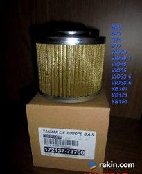 Yanmar filtr hydrauliczny ssawny B17 i inne