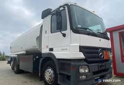 MERCEDES-BENZ 2541L ACTROS - Cysterna do paliw
