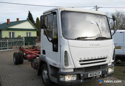 Iveco EUROCARGO 75E17 silnik Tector Import UE hydraulika Ma
