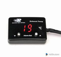 Zegar EGT Cyfrowy Temperatura Spalin LED