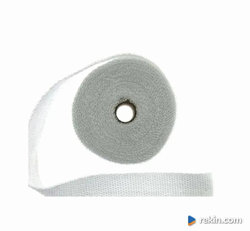 Taśma termiczna 50mm x 1mm 10m Biała / White