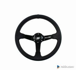 Kierownica SLIDE 350mm offset:90mm Carbon Black